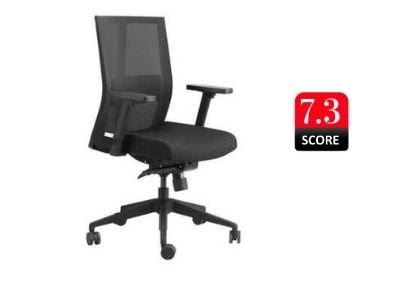 GODREJ INTERIO Pulse Aero Mesh Back Office Chair with Adjustable Armrest and Synchro Mechanism