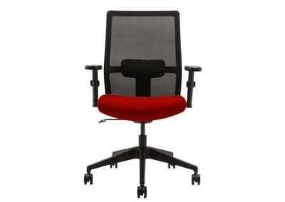 Wipro Furniture Adapt Medium Back Executive Ergonomic Office Chair with Automatic Weight Sensing Mechanism