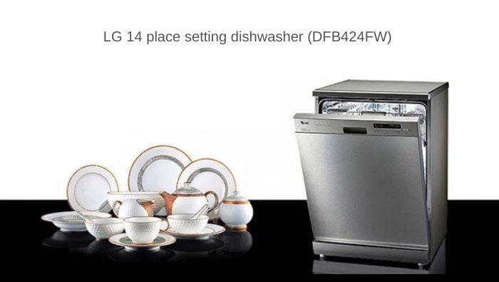 Review of LG DFB424FW Dishwasher (14 place setting)
