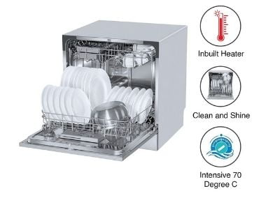 Voltas Beko Table Top/Countertop dishwasher DT8S