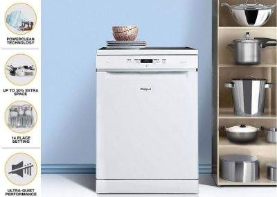 Whirlpool dishwasher WFC3C24 PF IN (14 place setting)
