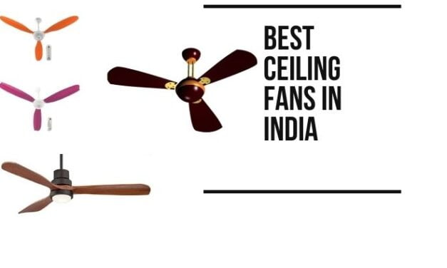 Best Ceiling Fans in India [2021 Updated]
