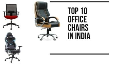 10 Best office chairs in India for work from home